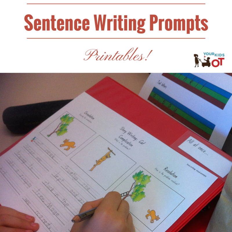 ways to get kids writing  and cool writing prompts for kids