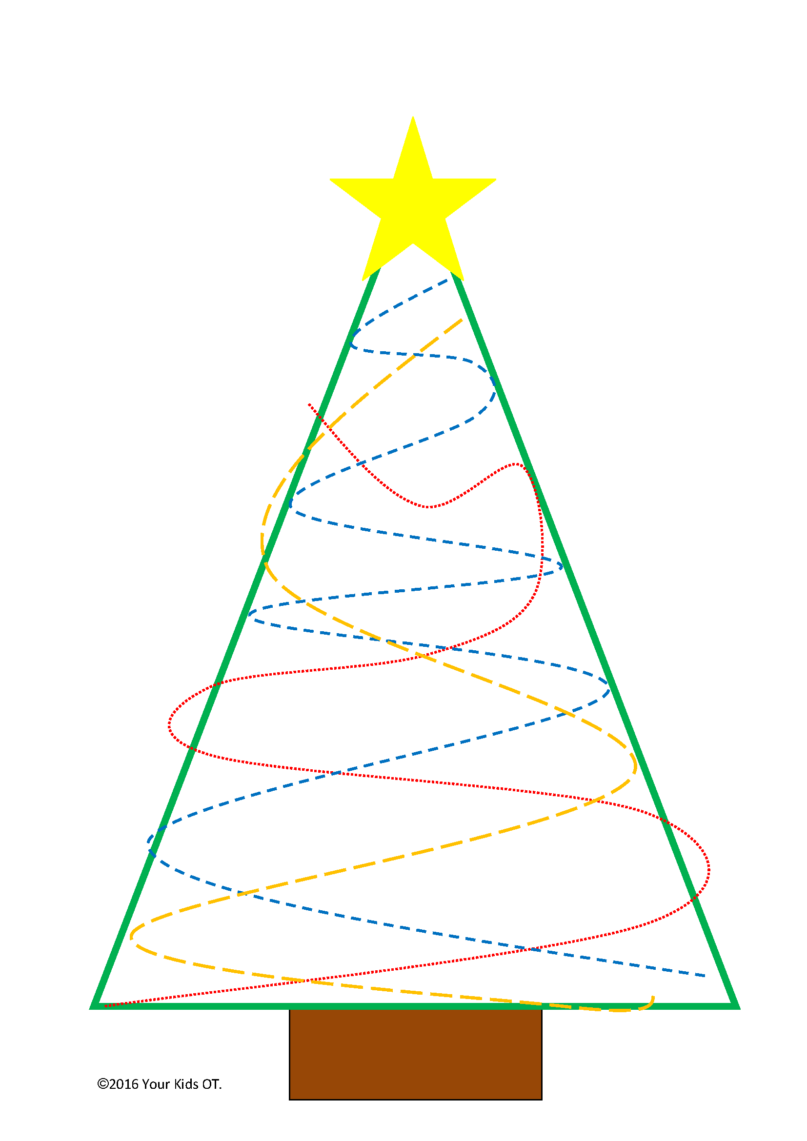 {FREE} Christmas Tree OT Printable Pack!