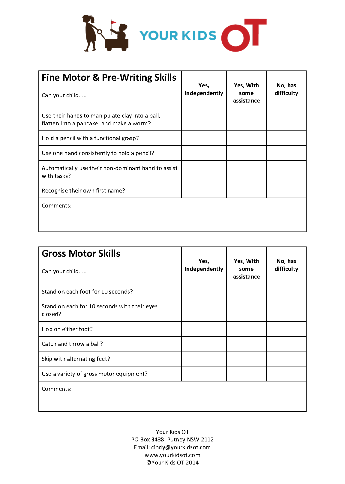 photo regarding Kindergarten Readiness Checklist Printable known as No cost College or university Readiness List